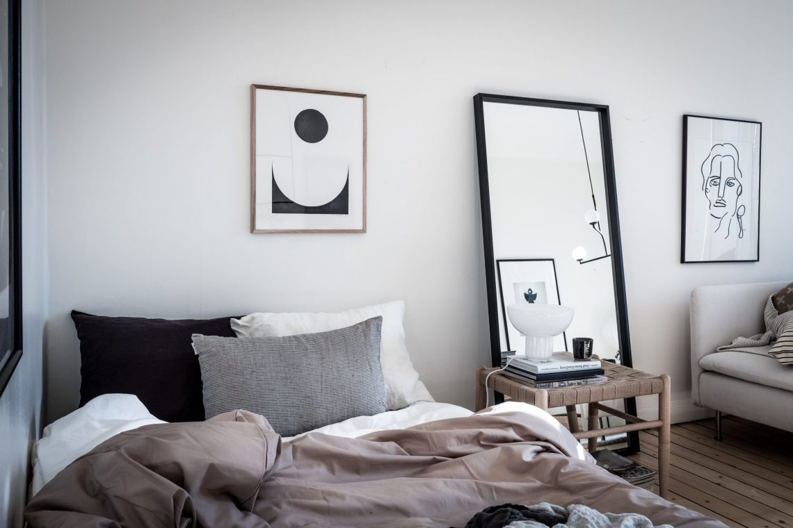 bedroom and living room combination coco lapine designcoco lapine design. Black Bedroom Furniture Sets. Home Design Ideas
