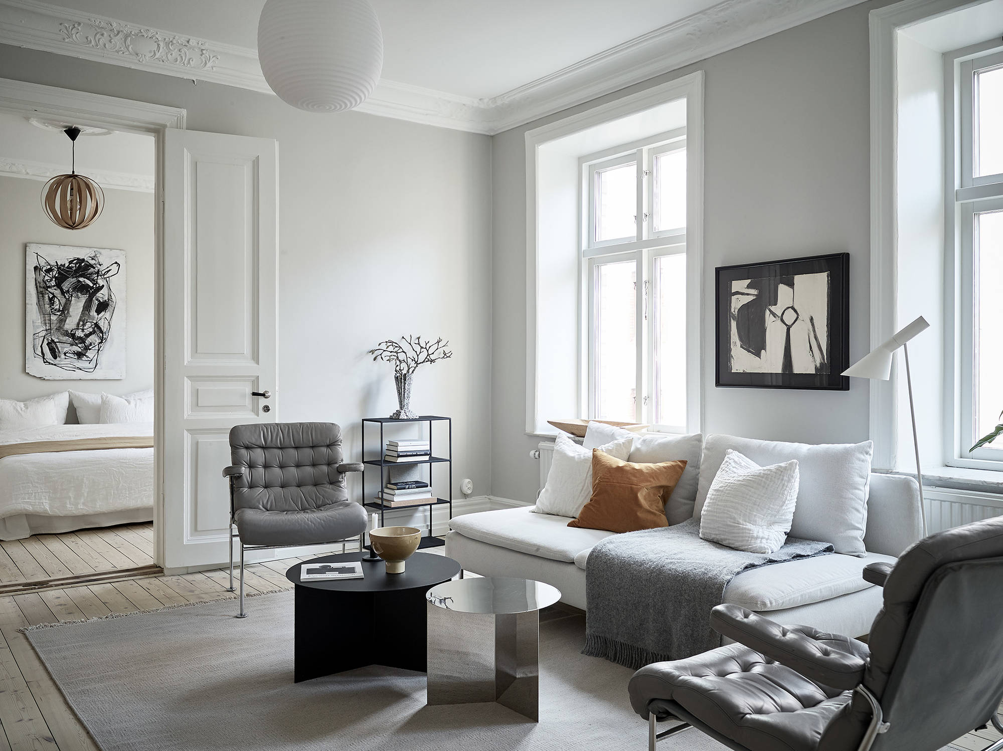 A cozy home with greige walls | COCO LAPINE DESIGN | Bloglovin\'