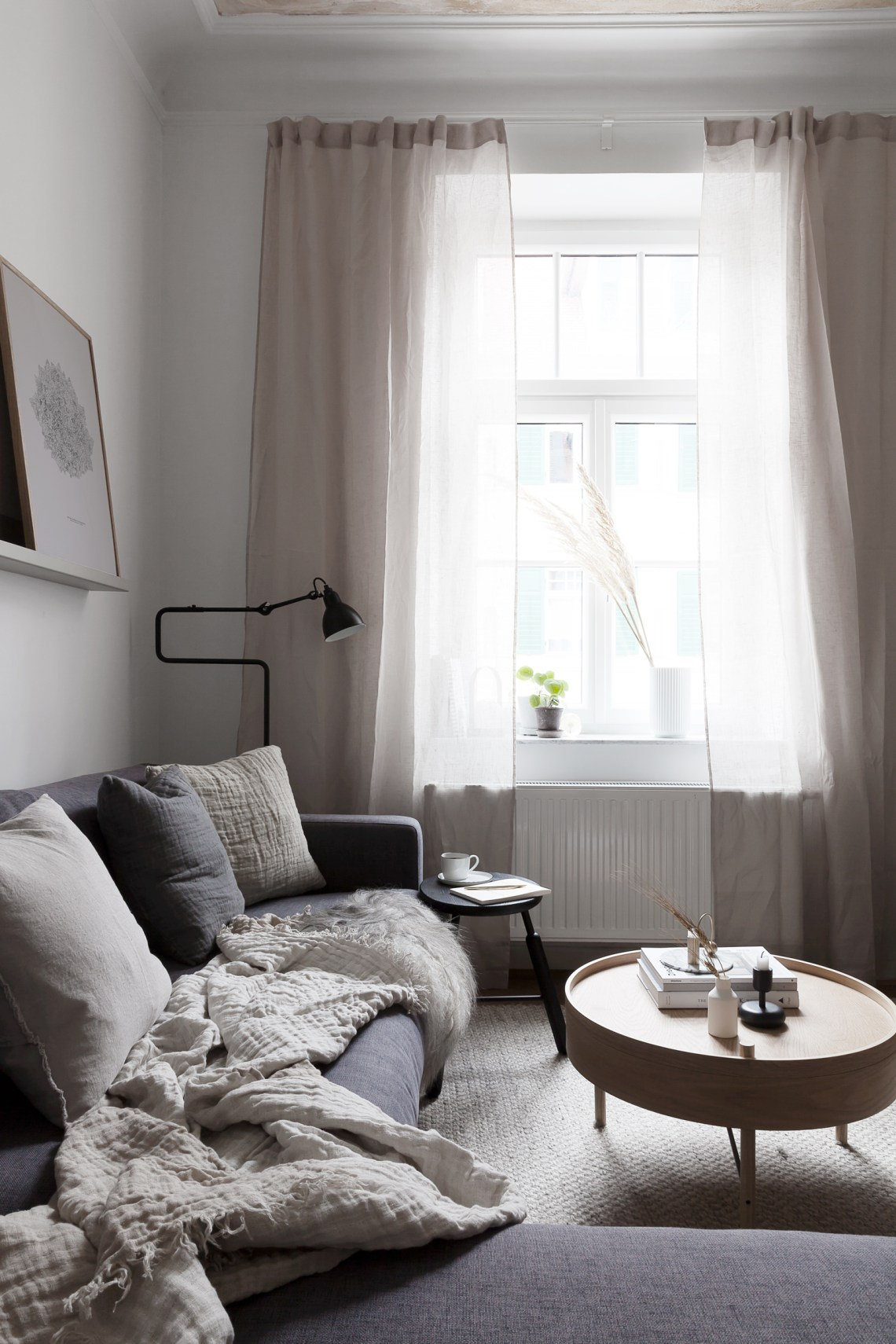 Beige in our living room - via Coco Lapine Design blog