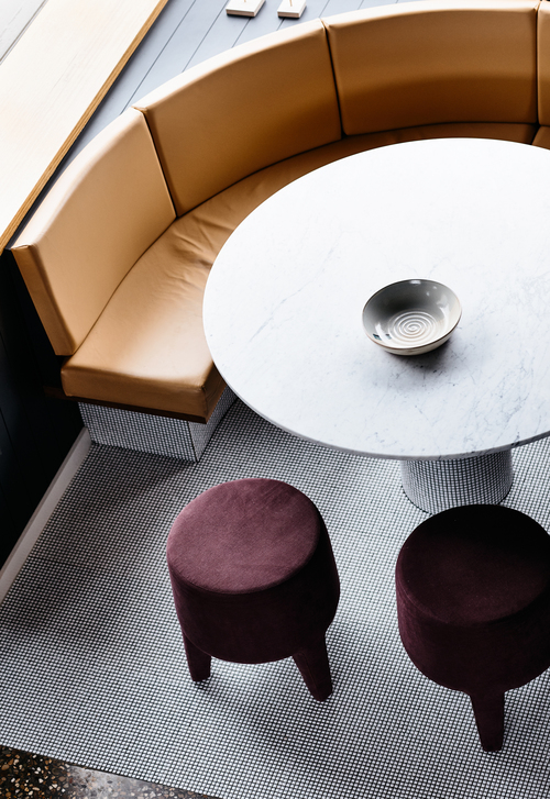 Custom tile kitchen - via Coco Lapine Design Blog