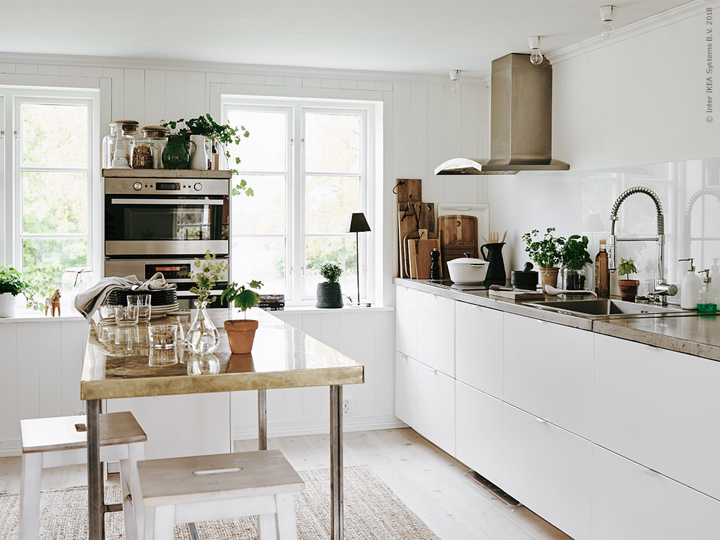 A kitchen with a personal touch