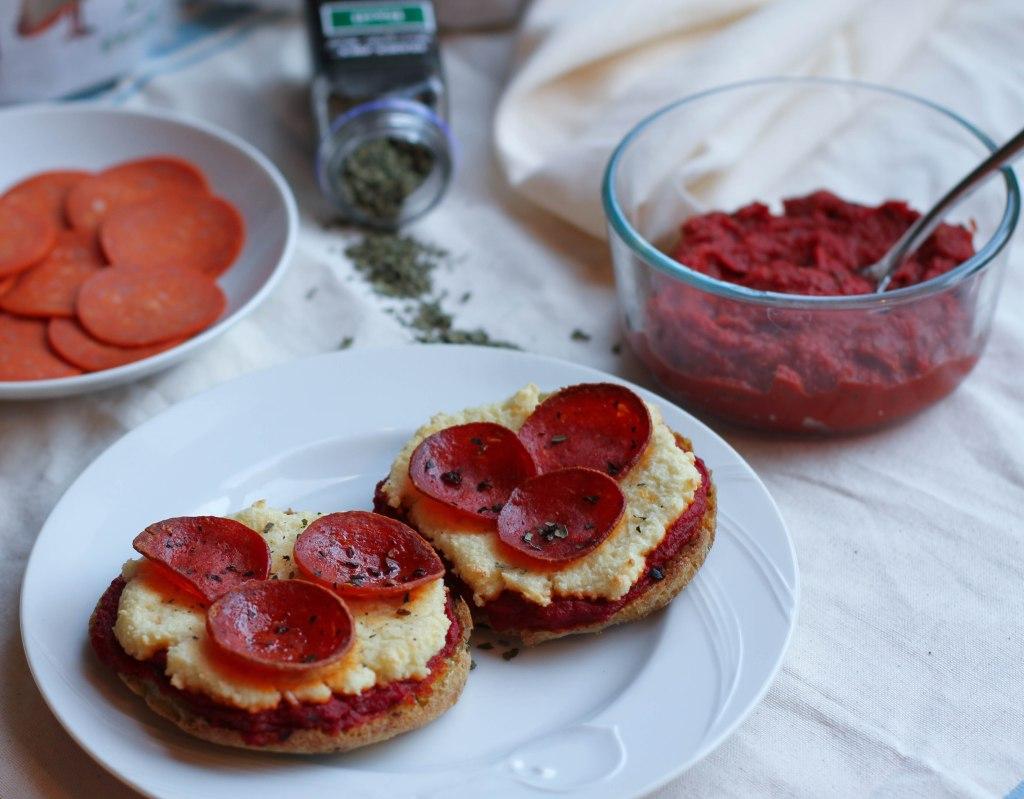 Coconut Contentment - Applegate Pepperoni English Muffin Pizzas (Paleo)