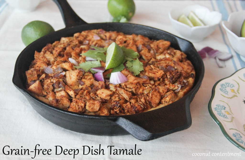Deep Dish Tamale by Coconut Contentment (Grain-Free, Paleo)