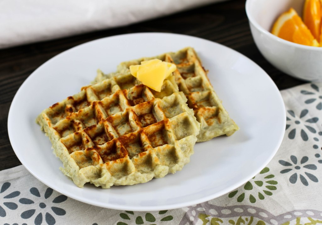Japanese Sweet Potato Waffles - 3 ingredients - Coconut Contentment (Paleo, Gluten-free, Whole 30)