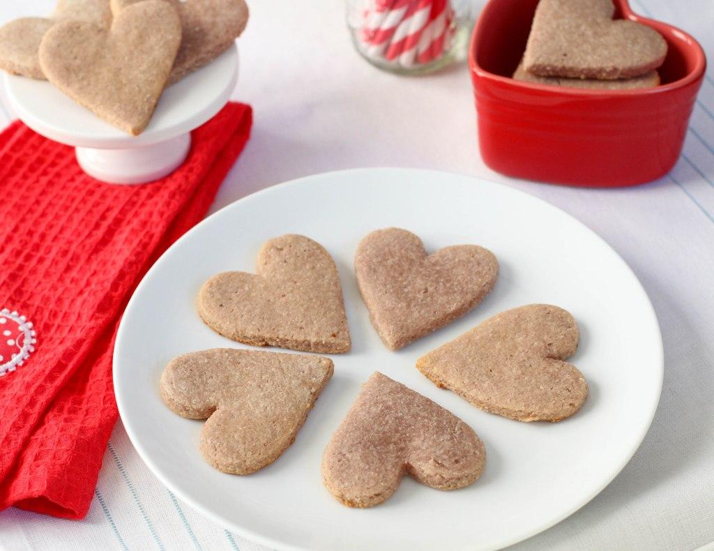Paleo Valentine's Day Sugar Cookies - Coconut Contentment (Gluten-free, Dairy-free)