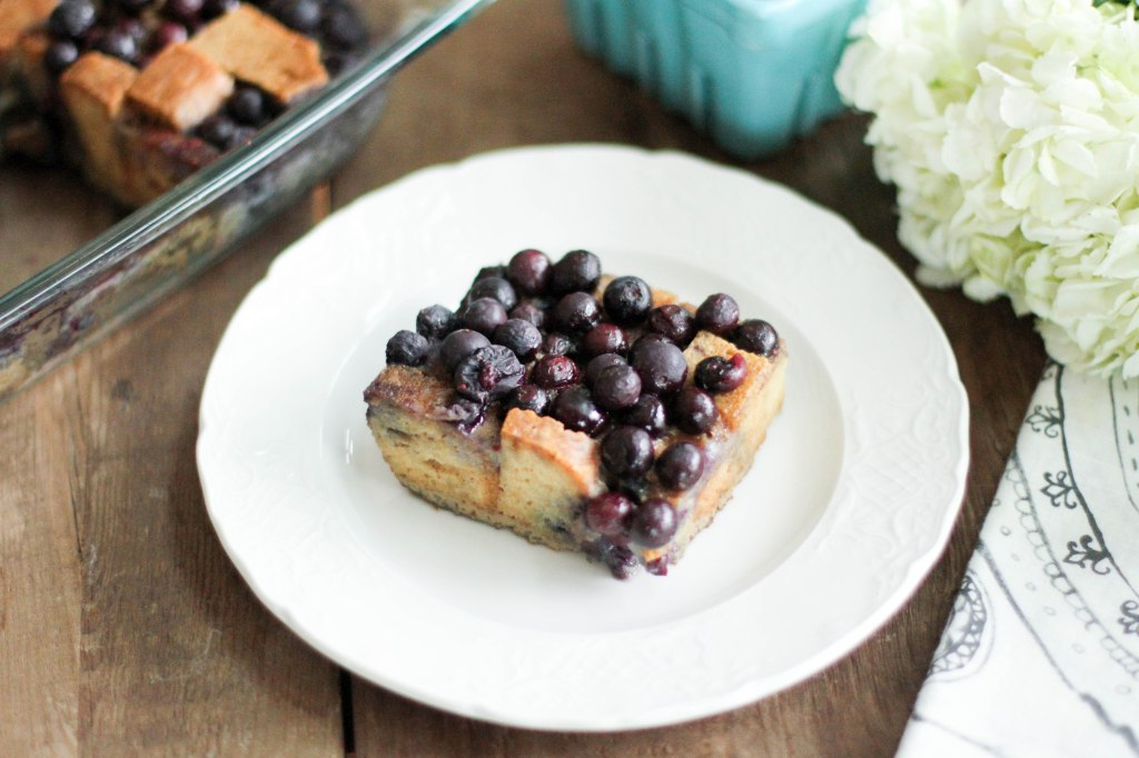 Blueberry Baked French Toast - Coconut Contentment (Gluten-Free, Paleo)