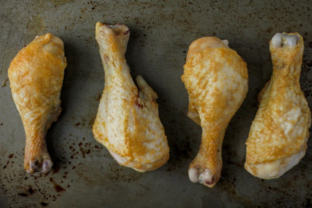 Roasted Honey-Cumin Chicken Legs - Coconut Contentment (Gluten-free, Paleo)