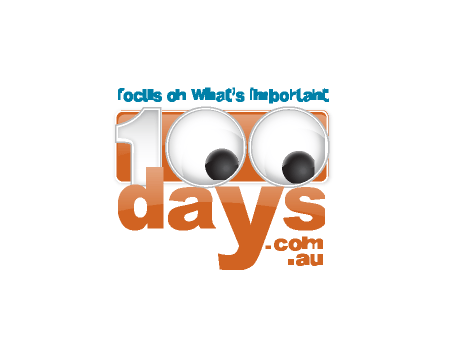100 Days Logo Design
