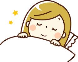 熟睡・安眠する女性