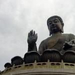 Tian Tan Buddha up close