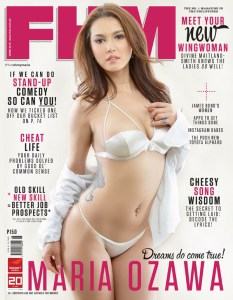 Maria Ozawa FHM Philippines