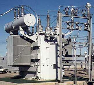 Simply shoot a few holes in this enormous transformer's radiator and you've disabled the transformer.