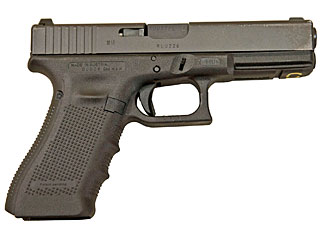 The new L131A1 standard sidearm of the British Armed Forces (aka a 9mm Glock 17).  Are the FBI likely to also adopt the G17 next year, too?