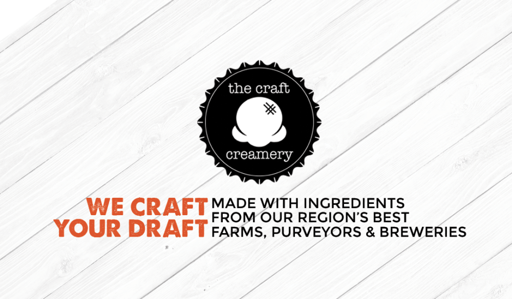 the craft creamery collateral design