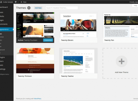 800px themes How to create a website & blog using Wordpress
