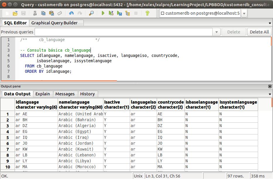 Tutorial postgresql 3 datos y consultas for Consul tutorial