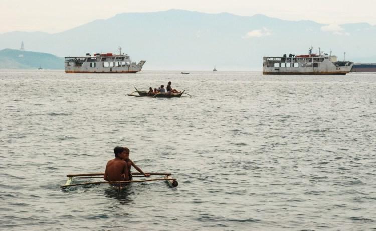 View from Batanga, Luzon Island, Philippines