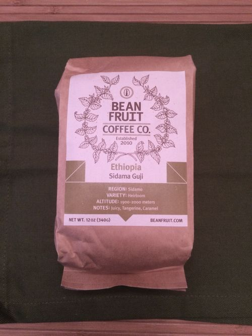 Review: BeanFruit Coffee Company Ethiopia Sidama Guji (Jackson, Mississippi)