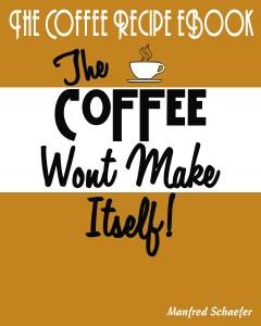 the coffee recipe ebook cover