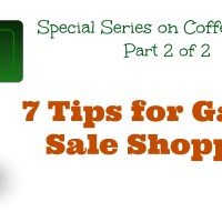 7 Tips for Garage Sale Shopping