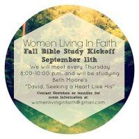 NWA Women Living in Faith Bible Study