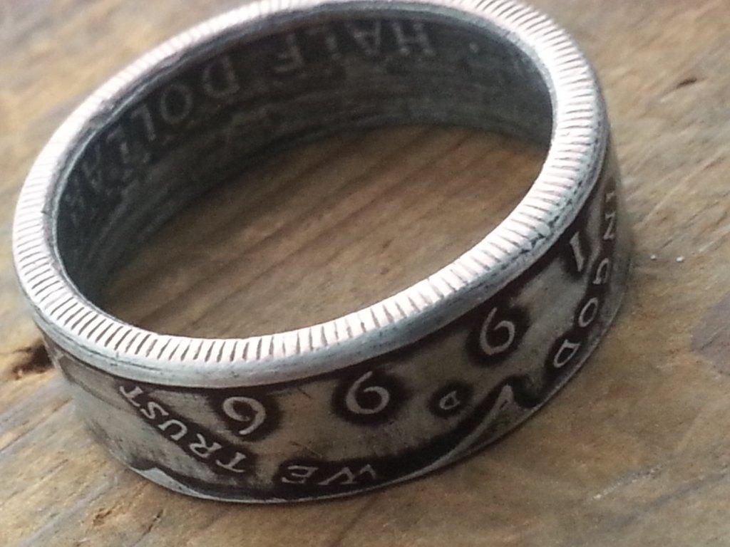 1996 Half Dollar Ring by LuckyLiberty