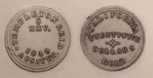 1849 Templeton Reid $25 was stolen from U.S. Mint Cabinet Collection (PCGS)