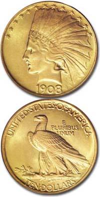 1908-ten-dollar-indian-head-gold-eagle