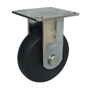 Sản phẩm Càng C100 cố định, bánh xe cao su của công ty cổ phần Làng Rùa