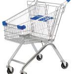 Chọn mua xe đẩy hàng phục vụ trong các siêu thị