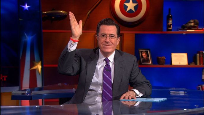 Stephen Colbert on The Colbert Report on May 21, 2013