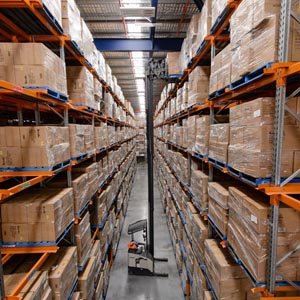 Tall Warehouse Racking Solution Installation