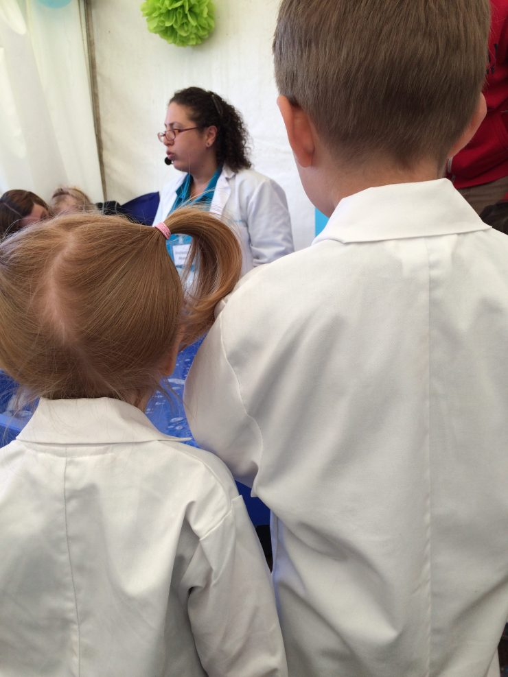Scientists at The Geronimo Festival