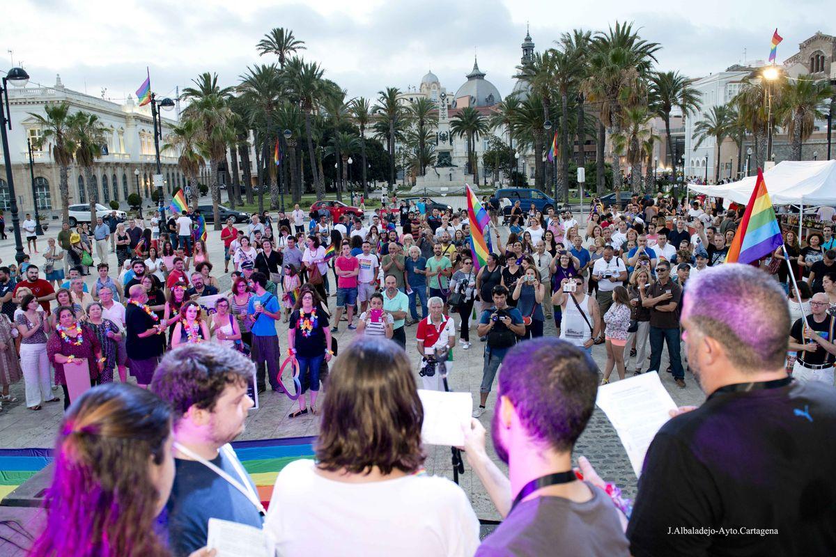 Cartagena reivindica la visibilidad bisexual