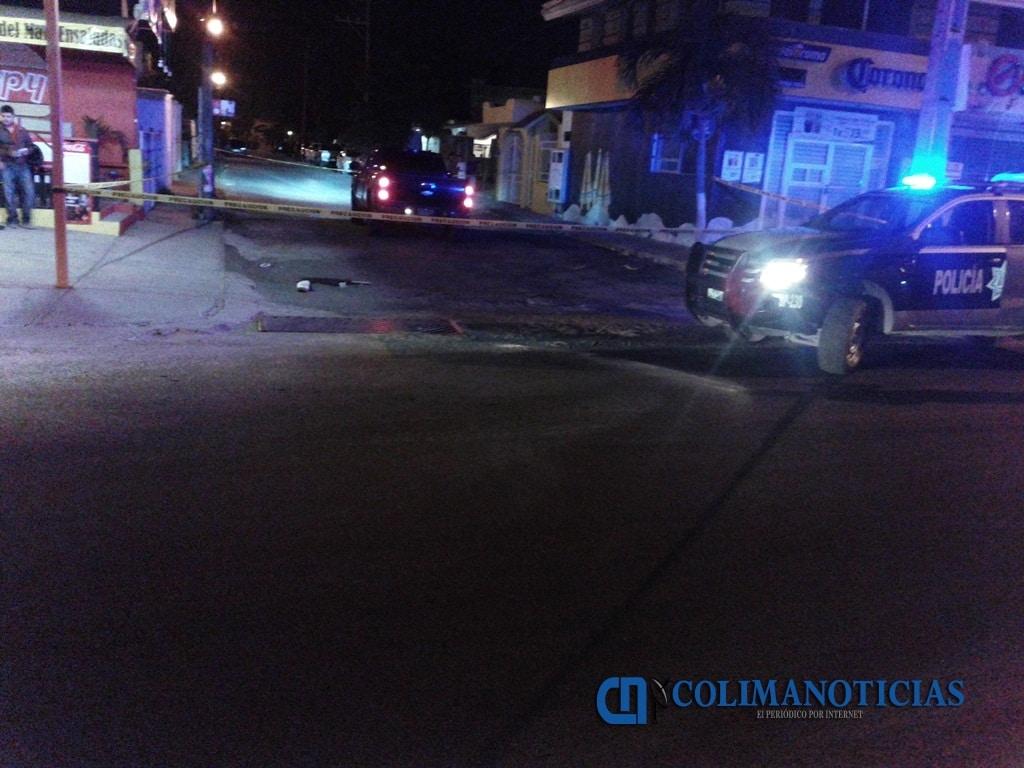 Identifican al hombre ejecutado anoche en Manzanillo; tenía 18 años