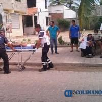 Menores estudiantes lesionadas en fuerte accidente