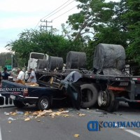 Reportan otro fuerte accidente en El Trapiche