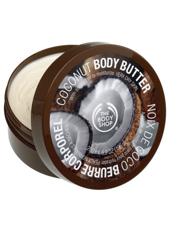 Body Shop Coconut Body Butter