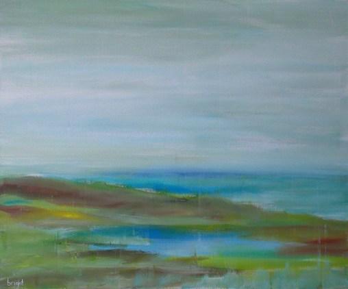 seastill landscape painting buying canadain art janet bright