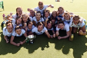 UCD Women's Hockey Score Late to Secure Irish Senior Cup