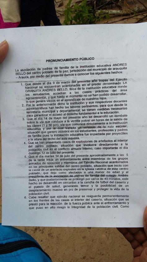 Vereda La PAz (Arauquita)