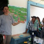 Voluntaria de la CCCM imparte un taller de ERM en el departamento de Caldas