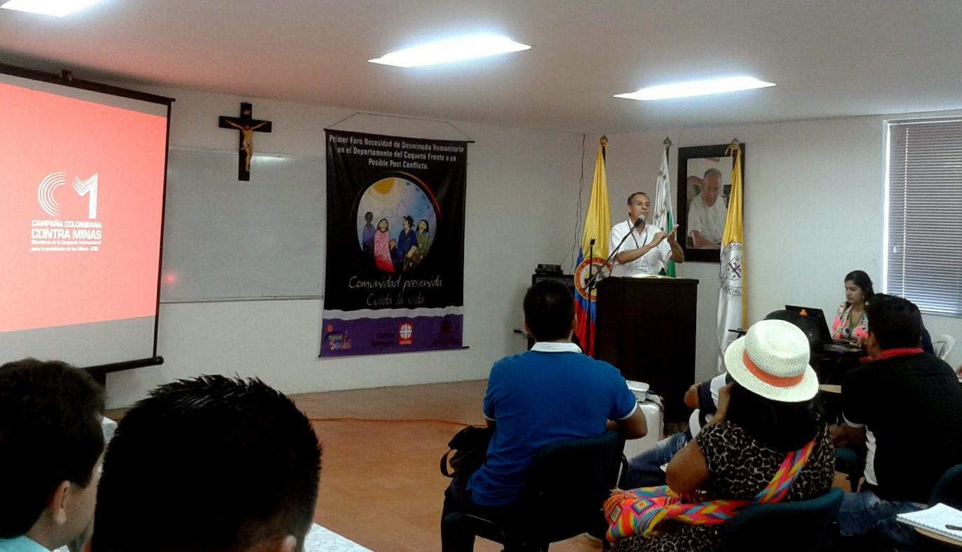 El director de la CCCM, álvaro Jiménez Millán, durante su intervención en el foro