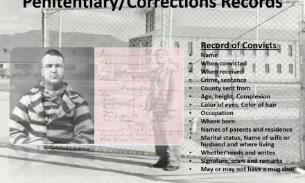Z Surnames – Colorado State Penitentiary Prisoner Records