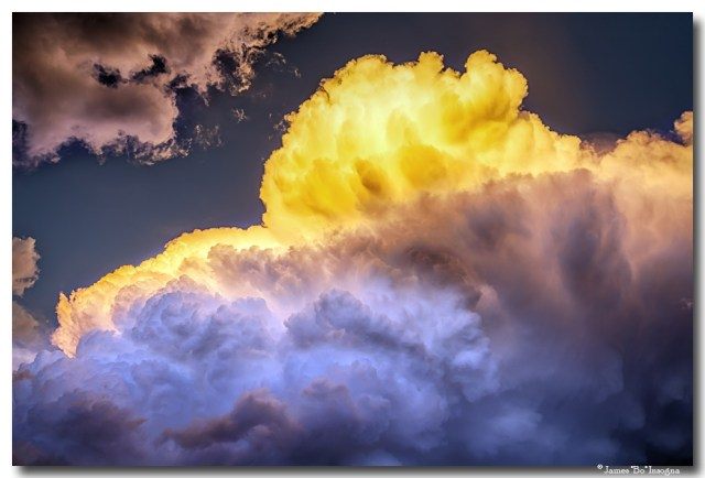 Colorado Nature Cumulus Gold Art