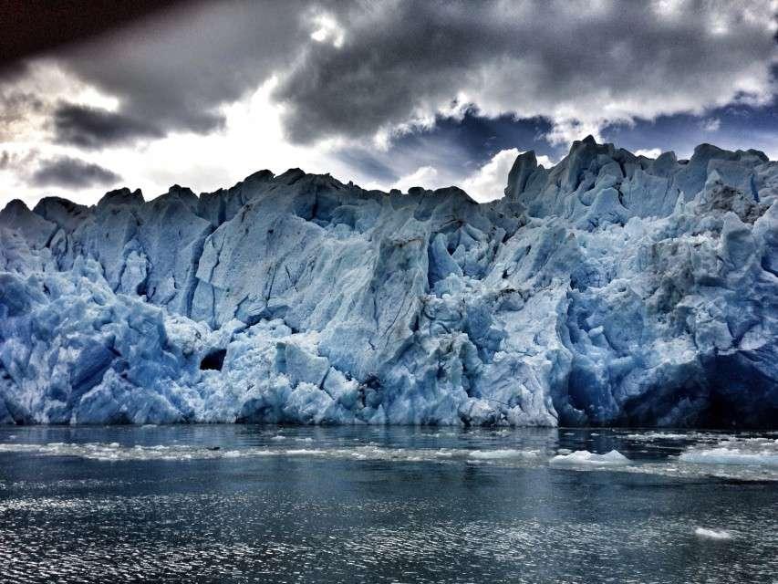 Der blaue Gletscher - der Perito Moreno in Argentinien