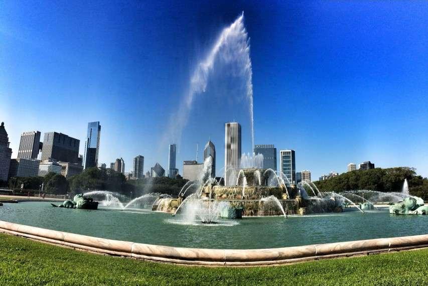 Al Bundys Brunnen in Chicago