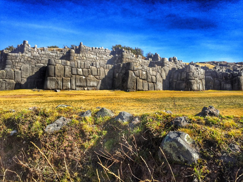 Die Inka-Festung Sacsayhuaman