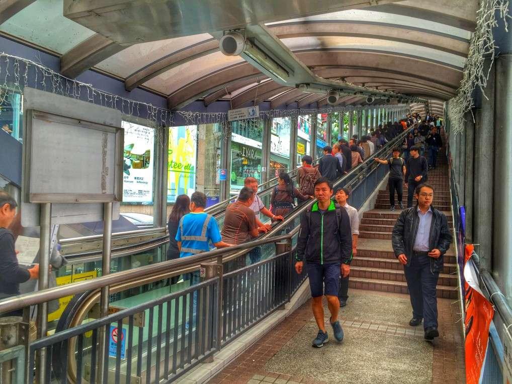 Die längste Rolltreppe der Welt