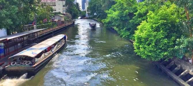 Mit dem Wassertaxi durch Bangkok
